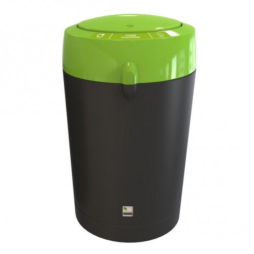 Бак пластиковый для отходов с крышкой-вертушкой