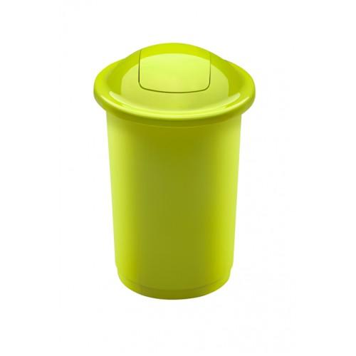 Контейнер зеленый с плавающей крышкой