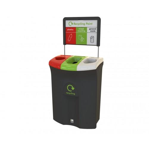 Контейнер для раздельного сбора мусора 3 раздела