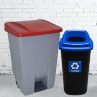 Контейнеры мусорные баки - раздельный сбор мусора