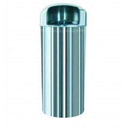 """Мусорная урна """"Нептун"""" из нержавеющей стали, обьем 27 л. 34 л. 57 л."""