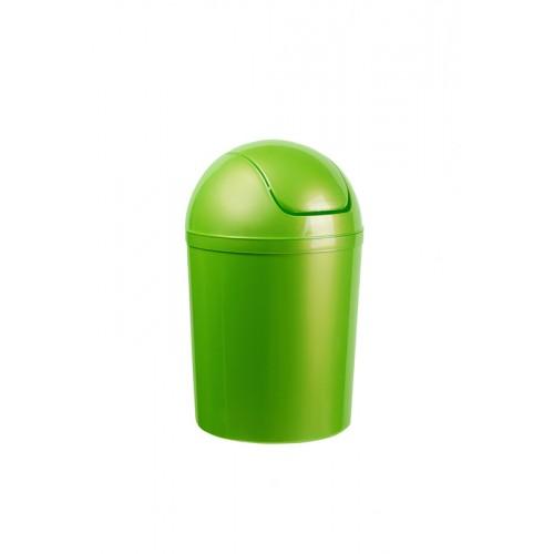 Бак пластиковый для мусора, с качающейся крышкой, объем 5 л. 15 л.
