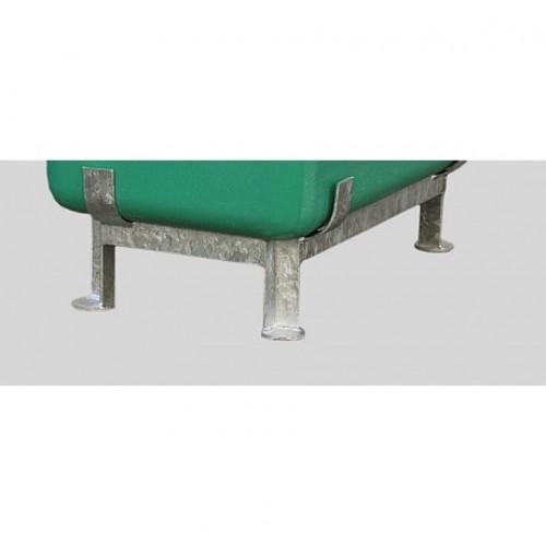 Подставка для контейнера CEMO GRP на ножках оцинкованная стальная рама