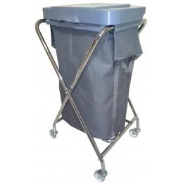Тележка для гостиниц прачечных для белья и для мусора, с пластиковой крышкой