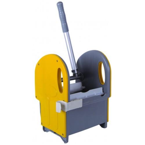 Отжим универсальный вертикальный прочная  конструкция механического отжима желтый