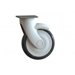 Колесо бесшумное поворотное, диаметр 125 мм
