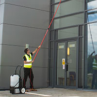 Оборудование для мойки фасадов и окон