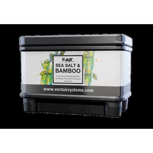Профессиональный картридж ароматизатор воздуха V-Air Solid Plus Морская соль и бамбук