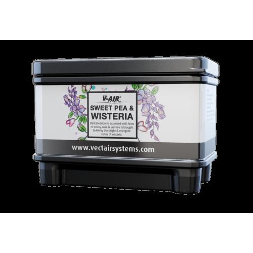 Профессиональный картридж ароматизатор воздуха V-Air Solid Plus Глициния со сладким горохом