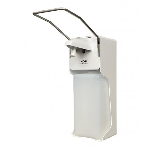 Дозатор локтевой для жидкого мыла и антисептика Hor D-004A пластиковый 1000 мл