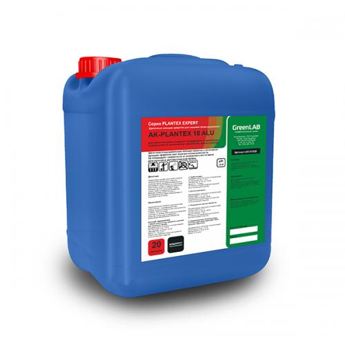 AK - PLANTEX 18 ALU, 20 л, Для щелочной мойки пищевого оборудования и технических поверхностей от органических загрязнений, жиров и белков
