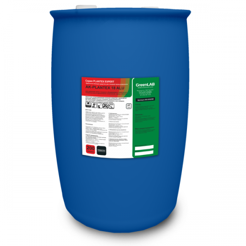 AK - PLANTEX 18 ALU, 200 л, Для щелочной мойки пищевого оборудования и технических поверхностей от органических загрязнений, жиров и белков