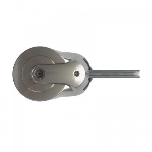 Гигиеническая фурнитура для ручки двери Pūrleve™  Latch-Lock с вращающимися рукавами на ручках, обеспечивает  гигиену рук при каждом открытие двери