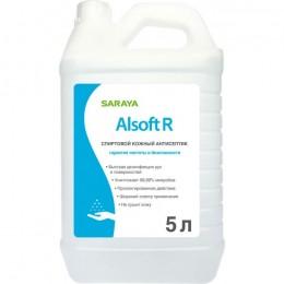 Alsoft R Антисептик для рук дезинфицирующее средство канистра 5 л.