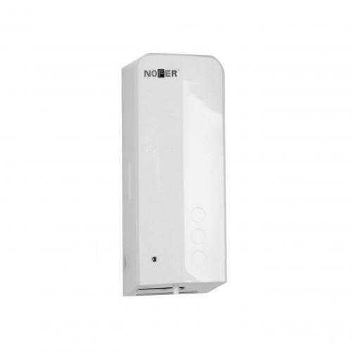 Автоматический сенсорный дозатор для антисептика и мыла для бесконтактной дезинфекции рук, антивандальный пластик, белый, Evo 03038.W