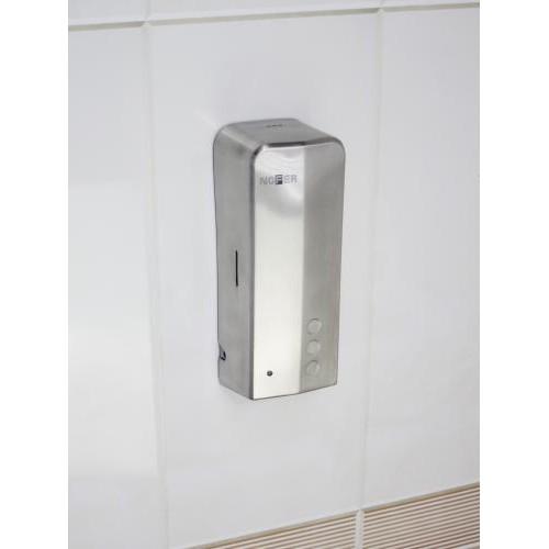 Сенсорный диспенсер для антисептика и мыла для бесконтактной дезинфекции рук, из нержавеющей стали AISI 304, глянцевый, Evo 03039.B