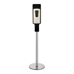 Мобильная стойка с автоматическим дозатором для антисептика и мыла