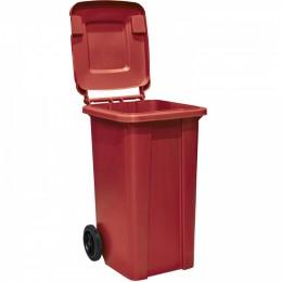 Контейнер бак мусорный  120 л. пластиковый на колесах с крышкой и ручкой