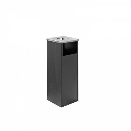 Урна-пепельница квадратная металлическая