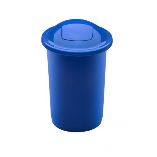 Бак синий с плавающей крышкой