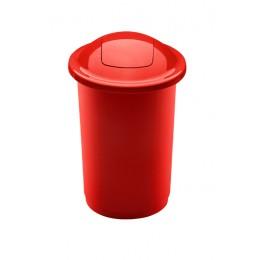 Бак красный с плавающей крышкой