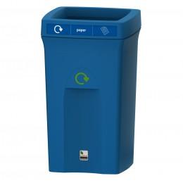 Контейнер для мусора пластиковый с открытой крышкой