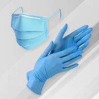 Маски защитные и перчатки