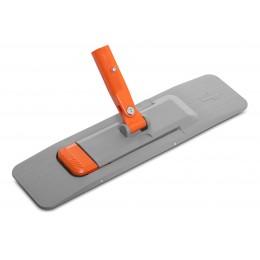 Держатель для мопов пластиковый с педалью на магните Nossa, 40 см HM40FBR