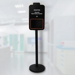 Автоматический дезинфектор для рук бесконтактный на мобильной стойке, напольный с амортизатором Kocateq HS BIOPROTECT AD 05 STAND, объем 2000 мл.