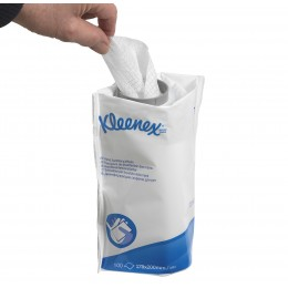 Дезинфицирующие салфетки Kimberly Clark Kleenex 7783 в упаковке  6 пачек по 100 шт