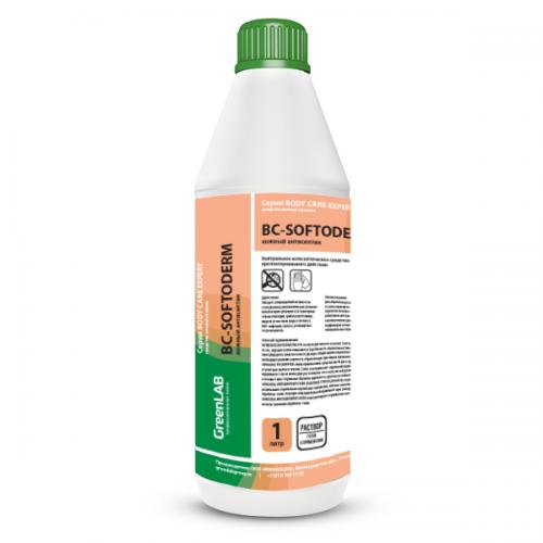 BC - SOFTODERM, 1 л. Нейтральное дезинфицирующее средство (кожный антисептик) на основе изопропилового спирта