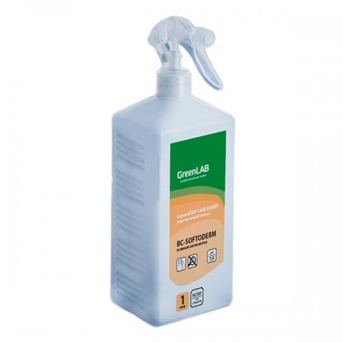 BC - SOFTODERM, 1 л, флакон с дозатором. Нейтральное дезинфицирующее средство (кожный антисептик) на основе изопропилового спирта
