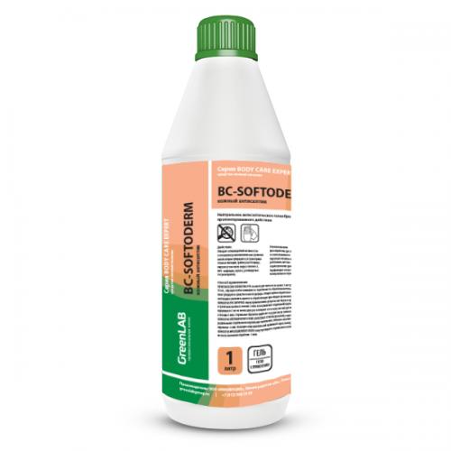 BC - SOFTODERM GEL, 1 л. Нейтральное дезинфицирующее средство (кожный антисептик) на основе изопропилового спирта