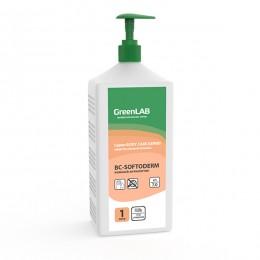 BC - SOFTODERM GEL, 1 л, флакон с дозатором. Нейтральное дезинфицирующее средство (кожный антисептик) на основе изопропилового спирта.