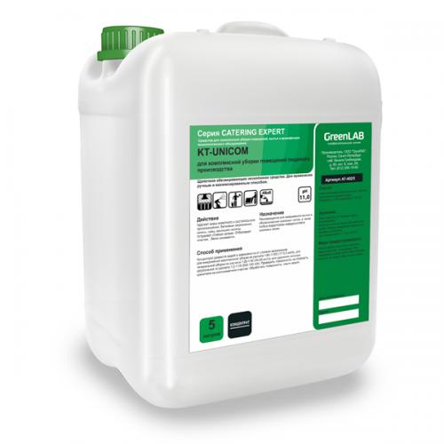 KT - UNICOM, 5 л. Для комплексной уборки помещений пищевого производства