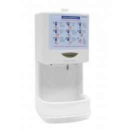 Автоматический дезинфектор для рук Kocateq HS BIOPROTECT сенсорный, бесконтактный настольный/настенный для обработки рук с антисептиком, пластиковый, объем 1600 мл.