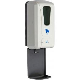 Автоматический сенсорный дозатор для антисептика (с UV установкой), с каплеуловителем,пластиковый, 1200 мл, PW-1408S
