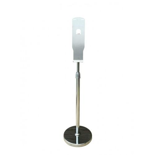 Мобильная стойка для дезинфекции рук из нержавеющей стали, подходит к сенсорным диспенсерам PW-2252, 1408S