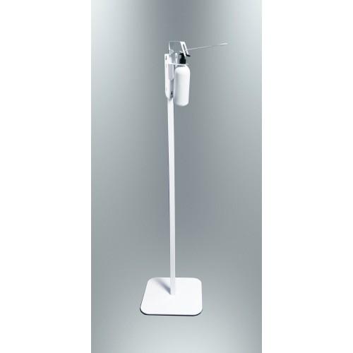 Мобильная стойка металлическая для дозатора D01 кожного антисептика и жидкого мыла