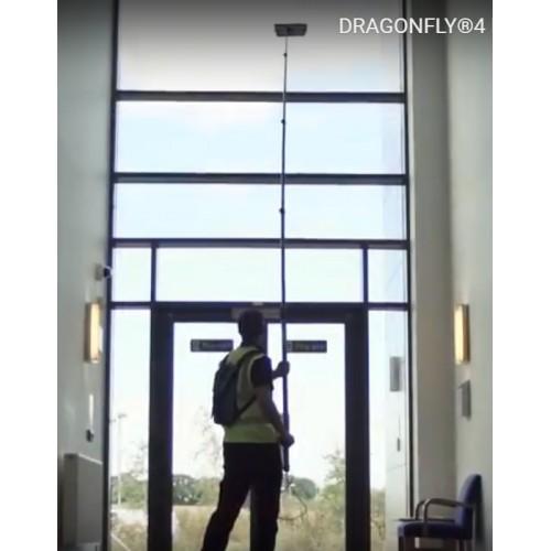 Оборудование для высотной мойки окон и остекления внутри помещения STREAMLINE-DRAGONFLY4