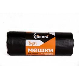 Пакеты для мусора ПНД Glionni SUPER 120-22/270 10шт 10 шт по 120 л