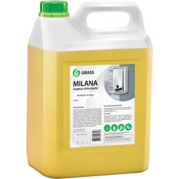 Крем мыло для рук Grass 126105 Молоко и мед 5000 мл