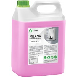 Крем мыло для рук Grass Milana125318 фруктовый 5000 мл
