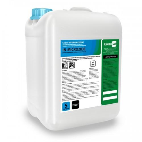 IN - MICROZIDE, 5 л - для дезинфекции и предстерилизационной очистки