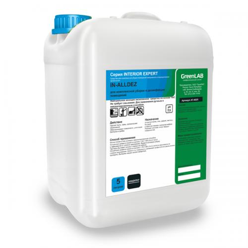 IN - ALLDEZ, 5 л - для дезинфекции и предстерилизационной очистки