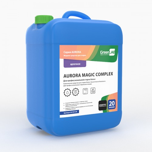 AURORA MAGIC COMPLEX, 20 л. для профессиональной стирки белья