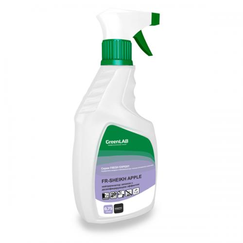 FR - SHEIKH APPLE, 0.75 л. нейтрализатор запахов с дезинфицирующим эффектом