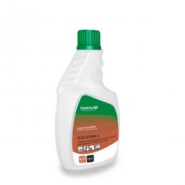 RUG - STAIN 2, 0.75 л. - надежный порошковый пятновыводитель для удаления пятен чая и кофе