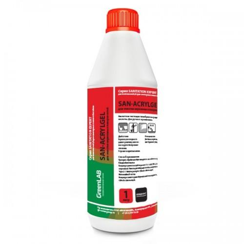SAN - ACRYLGEL, 1 л, для очистки акриловых поверхностей