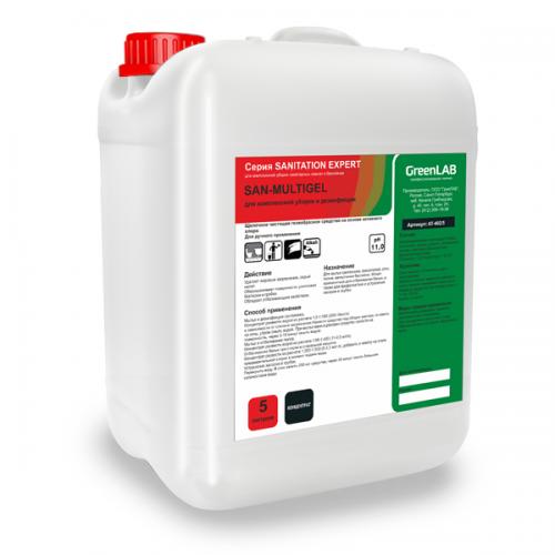 SAN - MULTIGEL, 5 л. для комплексной уборки и дезинфекции